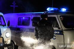 Пьяный вахтовик в ЯНАО устроил погоню и протаранил машину полиции. Фото