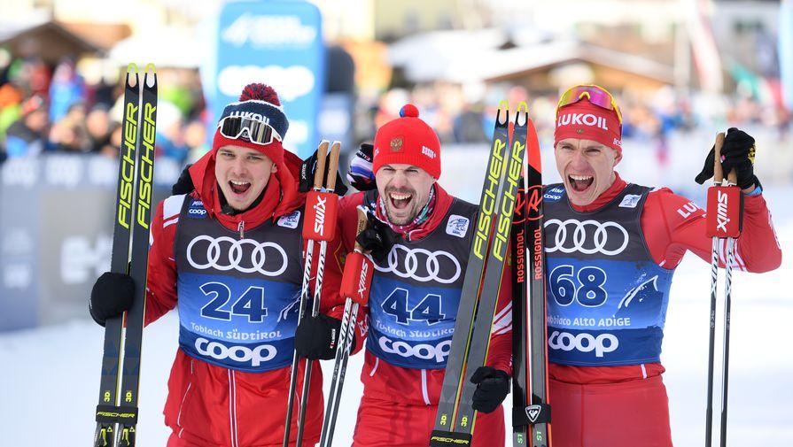 Сборная России выиграла общий и мужской зачеты на Кубке мира по лыжам