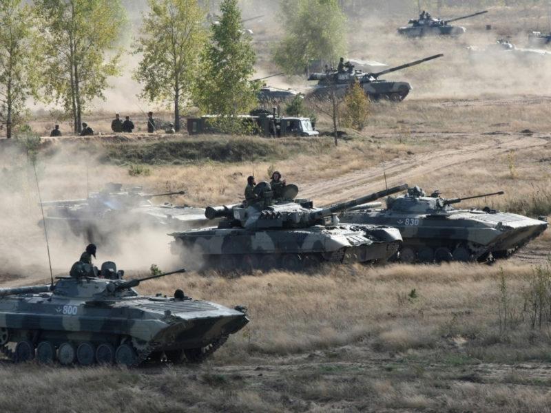 Учебные стрельбы проходят наМулинском полигоне подДзержинском