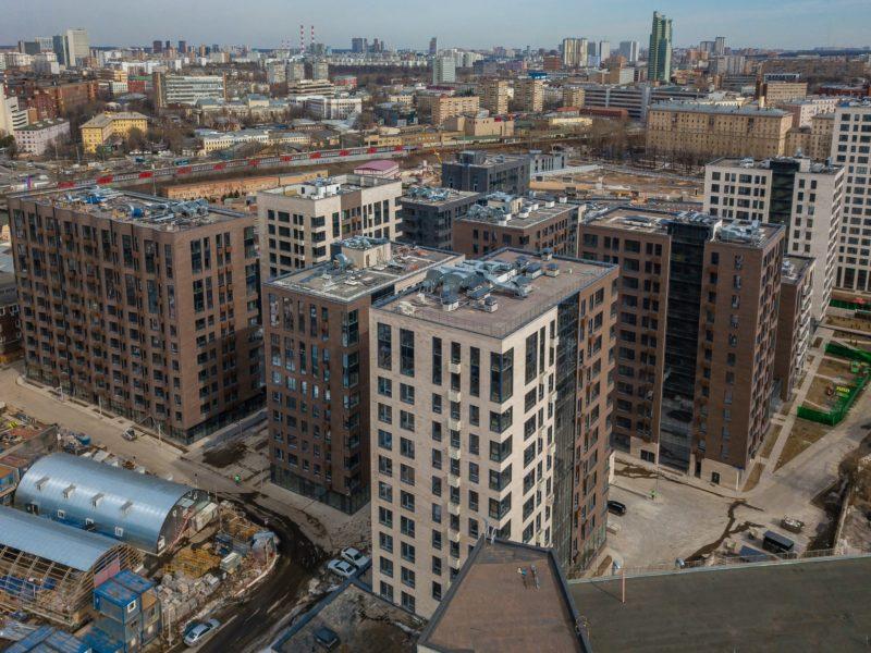 В ЖК «Резиденции архитекторов» завершено строительство еще трех жилых домов