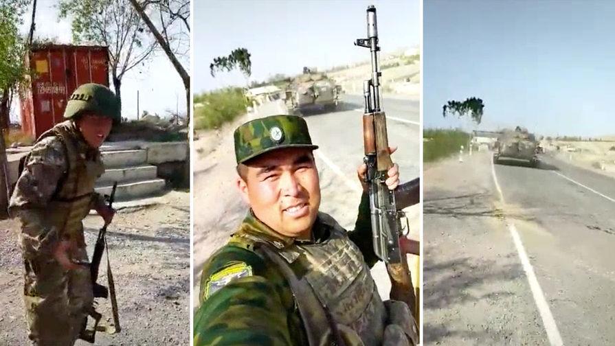 На границе Киргизии и Таджикистана возобновилась перестрелка
