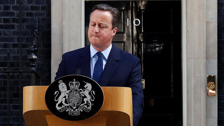 Правительство Британии начало проверку в отношении экс-премьера Кэмерона