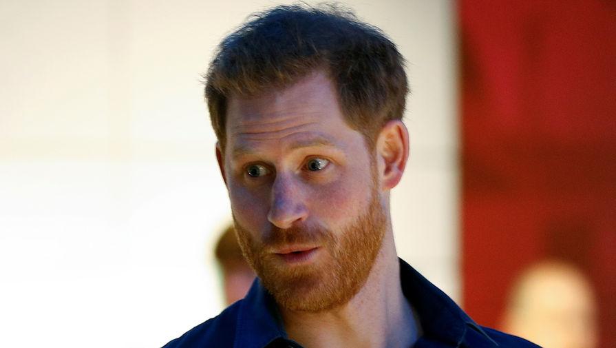 Принц Гарри вернулся в Великобританию на похороны принца Филиппа
