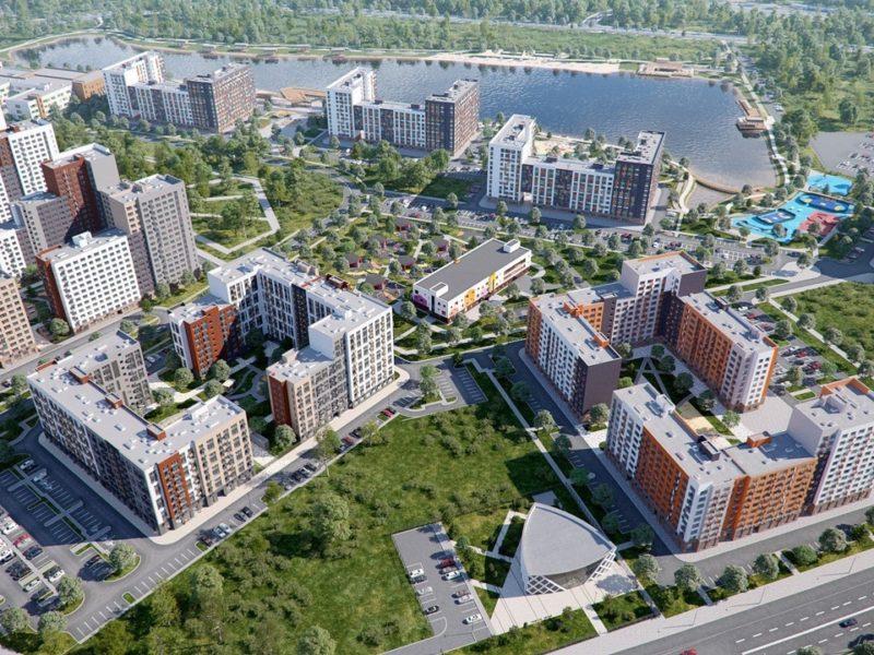 За месяц дольщикам жилого комплекса в Рассказовке передано 350 квартир