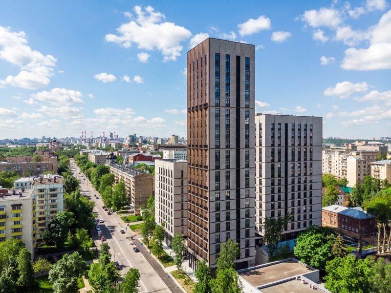 Девелопер Capital Group завершил строительство жилого комплекса «Медный 3.14» в районе Якиманка