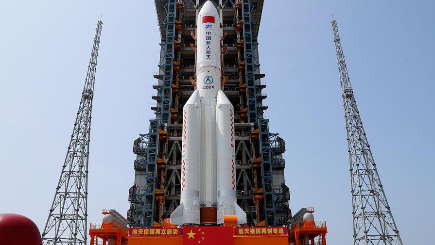 Роскомос подтвердил падение неуправляемой китайской ракеты в Индийский океан