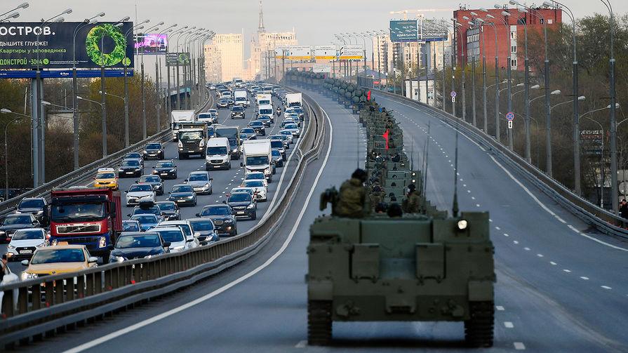 В Москве задержали четырех человек, пытавшихся помешать репетиции парада Победы