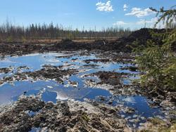 В ЯНАО произошла утечка нефти из лопнувшего трубопровода