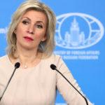 Захарова рассказала о работе по организации встречи палестинцев и израильтян в Москве