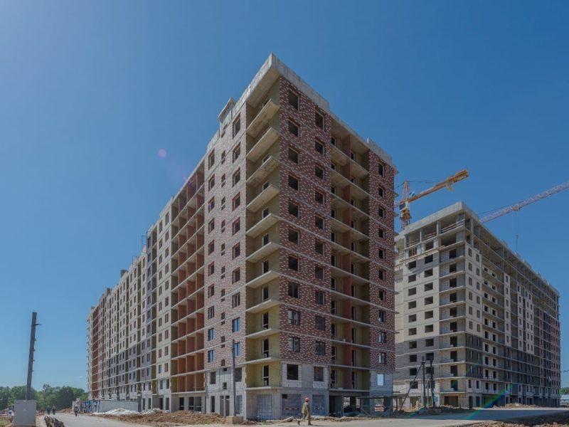 Завершить строительство трех корпусов ЖК «Алхимово» планируется в конце II квартала 2022 года