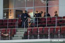 На матч ЧМ между Россией и Беларусью пришел один болельщик