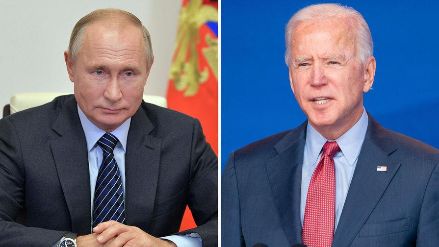 СМИ: встреча Путина и Байдена может пройти не в Женеве