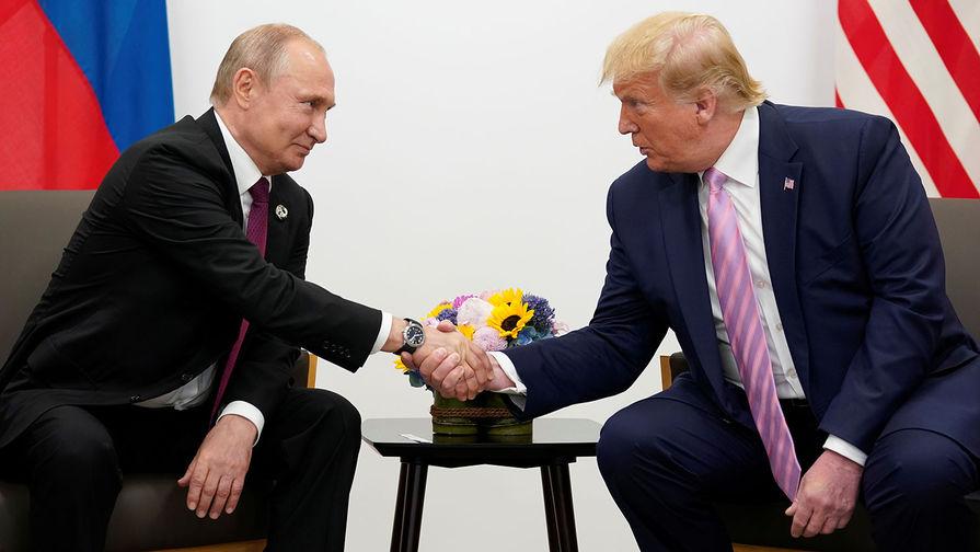 Трамп рассказал о хороших отношениях с Путиным