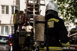 В Челябинске загорелась котельная возле жилого комплекса. Фото, видео