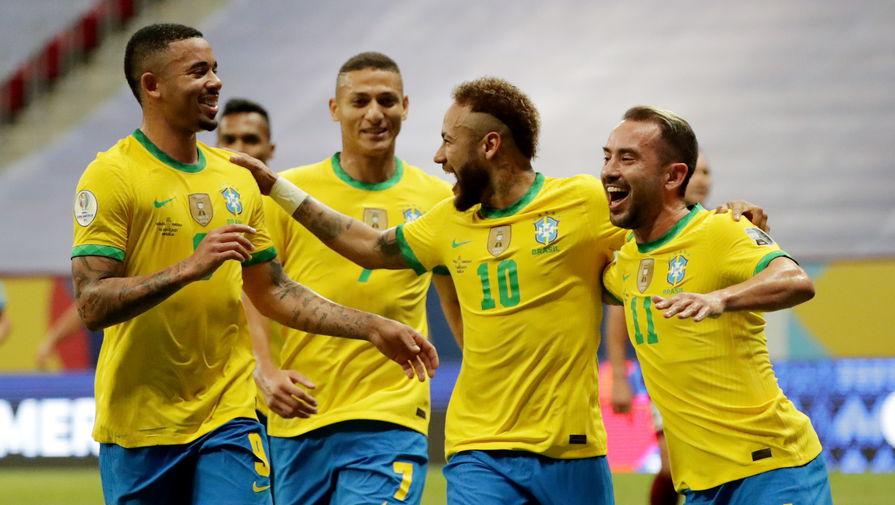 Бразилия вышла в финал Кубка Америки - 2021