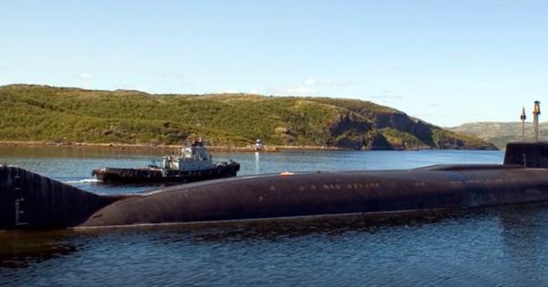 ВНАТО всерьез испугались российской подлодки класса «Антей» наБалтике