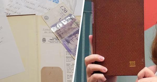 ВШотландии книгу вернули библиотеке спустя 53года скупюрой £20