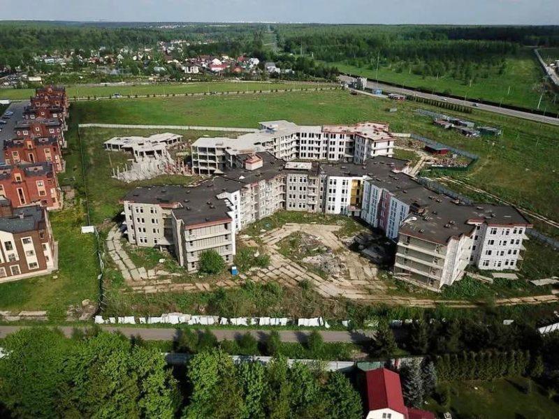 Проблемный ЖК «Остров Эрин» в поселении Краснопахорское обеспечен охраной