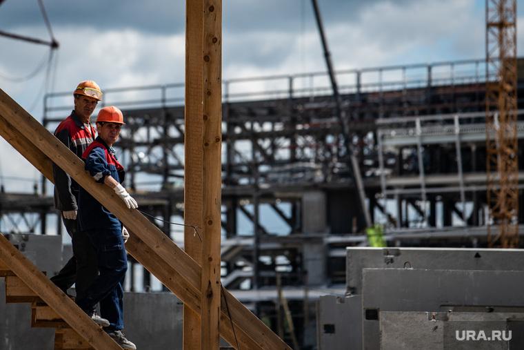 ВСвердловской области останавливаются стройки школ идетсадов