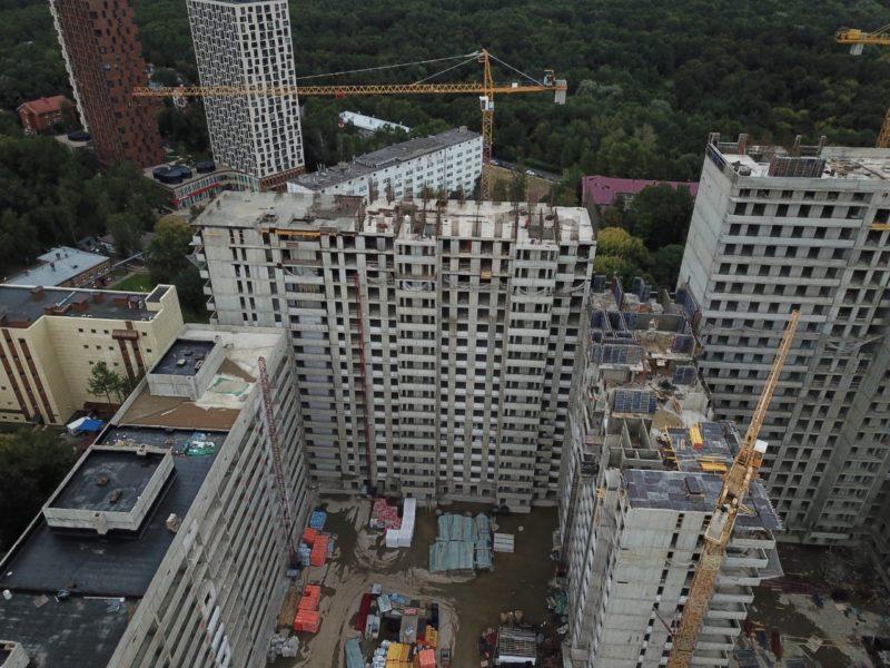 Городской застройщик АО «Мосотделстрой №1» достроил жилую часть блока Б проблемного ЖК «Терлецкий парк»