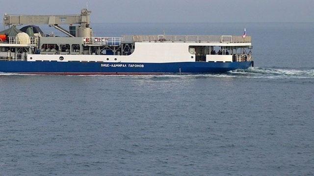 Малый морской танкер «Вице-адмирал Паромов» начал прохождение черноморских проливов